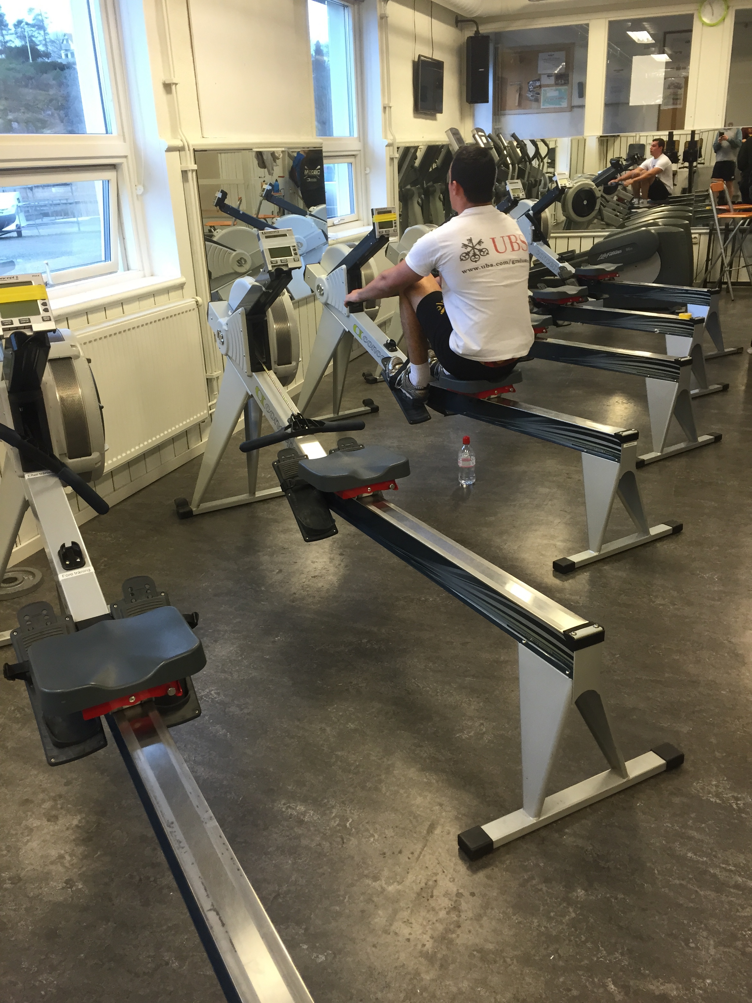 Erging for one.